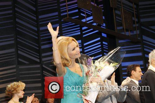 Kristin Chenoweth on stage during the opening night...