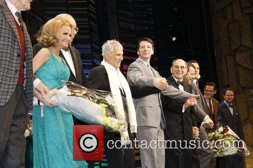Kristin Chenoweth, Burt Bacharach, Neil Simon, Rob Ashford and Sean Hayes 6