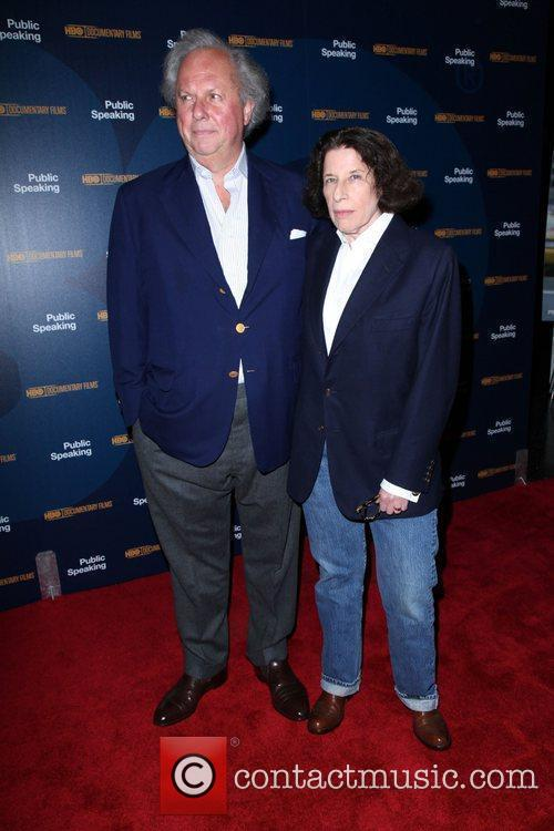 Graydon Carter and Fran Lebowitz 3