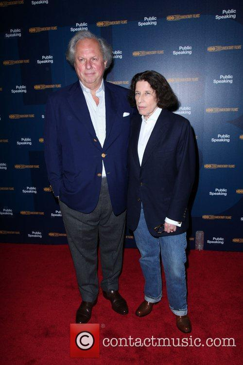 Graydon Carter and Fran Lebowitz 5