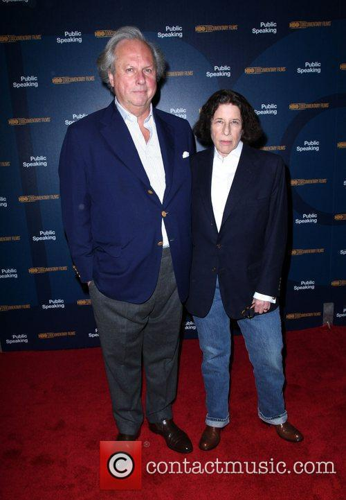 Graydon Carter and Fran Lebowitz 6