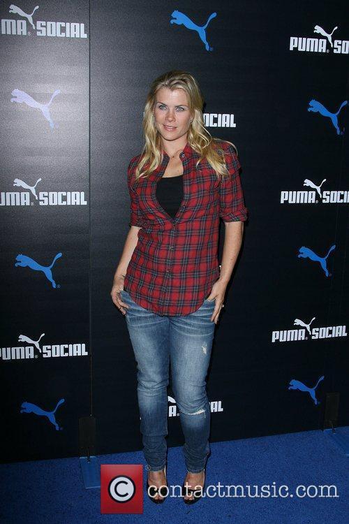 Alison Sweeney The PUMA Social Club LA launch...