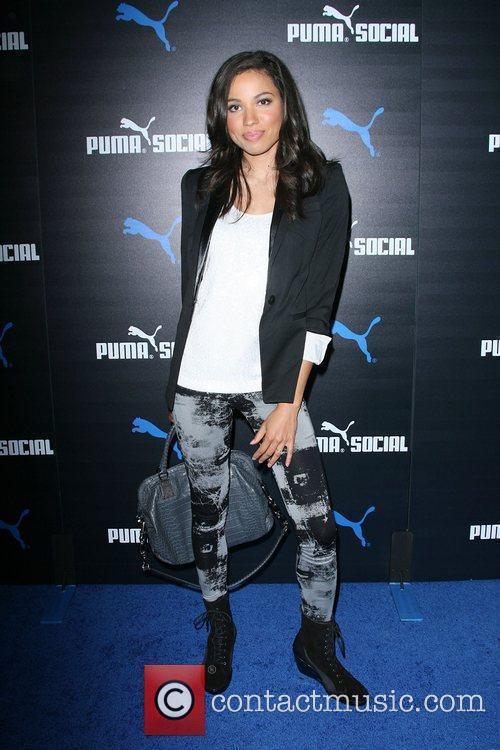 Jurnee Smollett The PUMA Social Club LA launch...