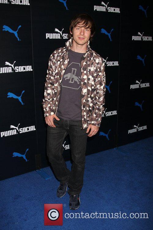 Marshall Allman The PUMA Social Club LA launch...