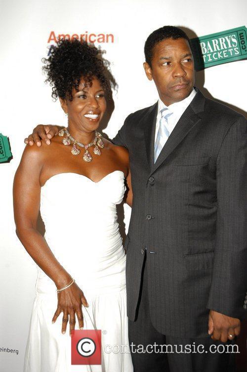 Denzel Washington and Paulette Washington 1