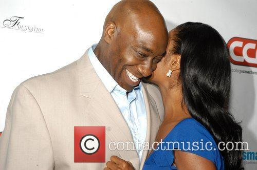Michael Clarke Duncan and Omarosa 7
