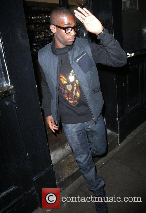 Tinie Tempah,  leaving the Punch Bowl in...