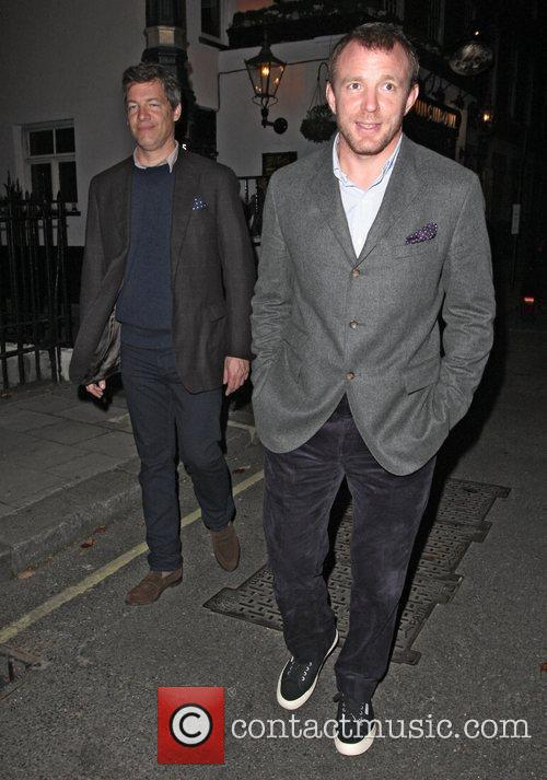 Guy Ritchie leaves the Punchbowl pub which has...