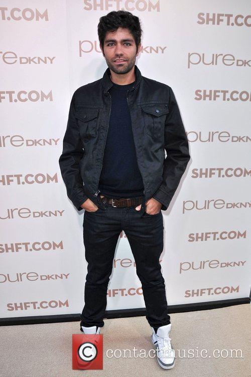 Adrian Grenier at the launch of pureDKNY and...