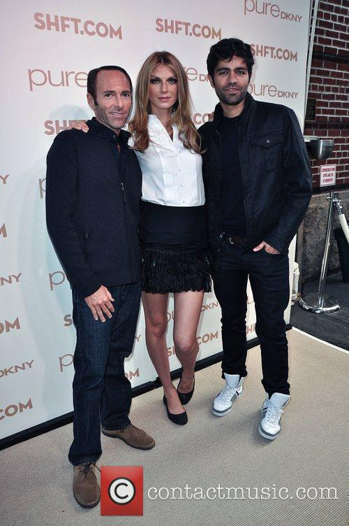 Peter Glatzer, Adrian Grenier and Angela Lindvall