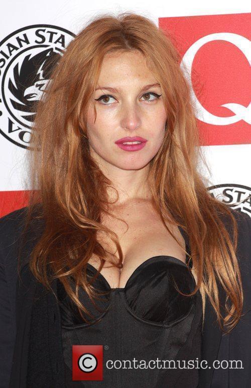 Josephine De La Baume The Q Awards 2010...