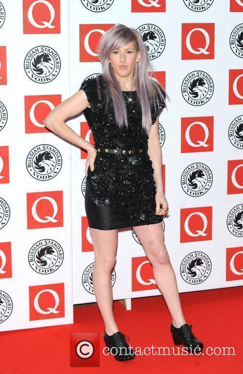 Ellie Goulding The Q Awards 2010 held at...