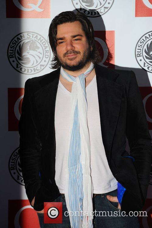 Matt Berry,  The Q Awards 2010 held...