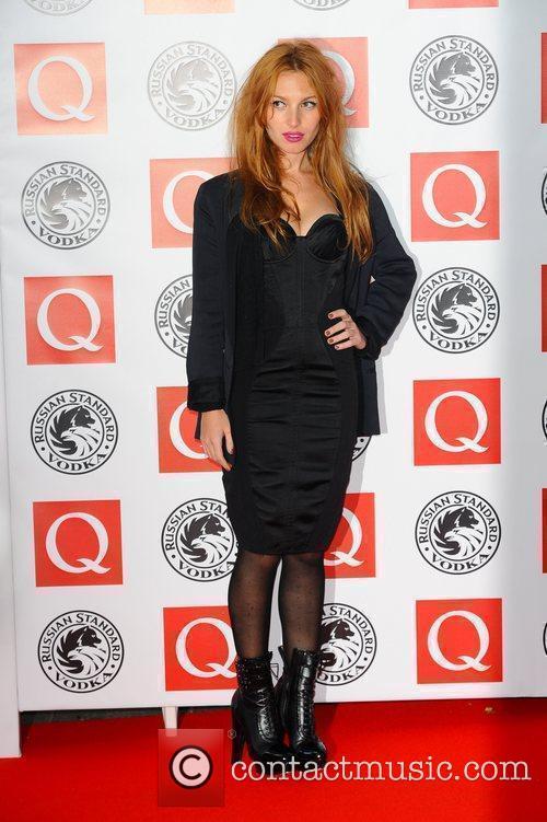 Josephine De La Baume,  The Q Awards...