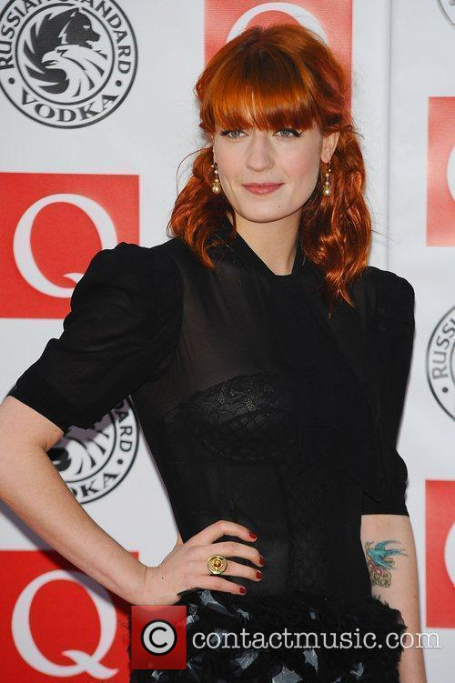 Florence Welch, Grosvenor House, The Q Awards