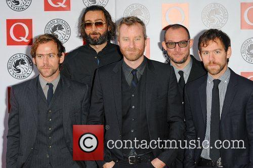 The National,  The Q Awards 2010 held...