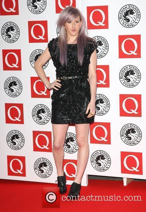 Ellie Goulding The Q Awards 2010 - Arrivals...