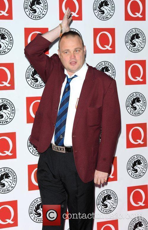 Al Murray The Q Awards 2010 held at...
