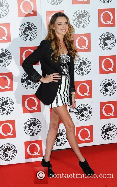 Nadine Coyle The Q Awards 2010 held at...