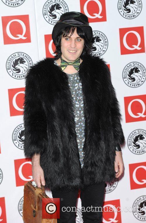 Noel Fielding The Q Awards 2010 held at...
