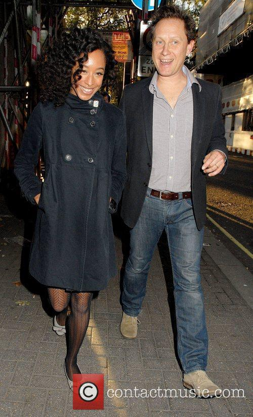 Corinne Bailey Rae and Guest The Q Awards...