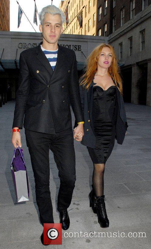 Mark Ronson and Josephine De La Baume The...