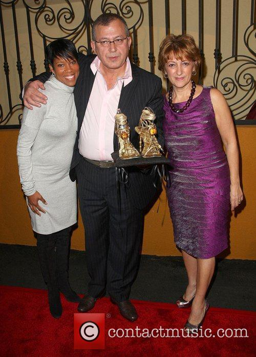 Regina King, Pasquale Fabrizio and Lina Fabrizio Q...