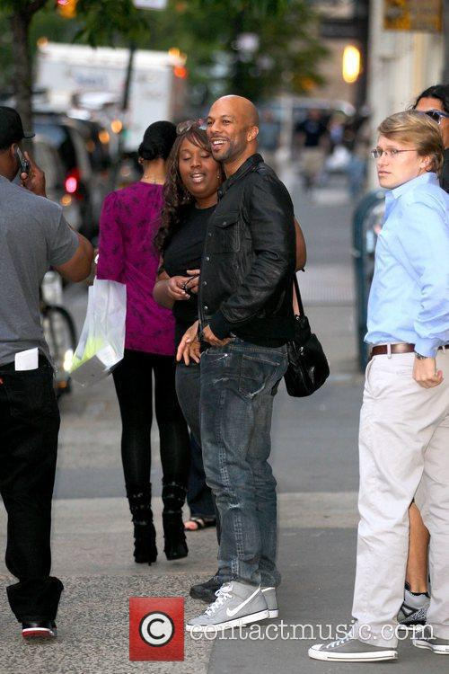 Common walking with friends in Soho before the...