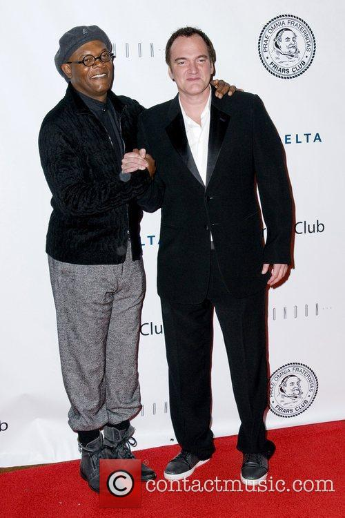 Samuel L Jackson and Quentin Tarantino 5