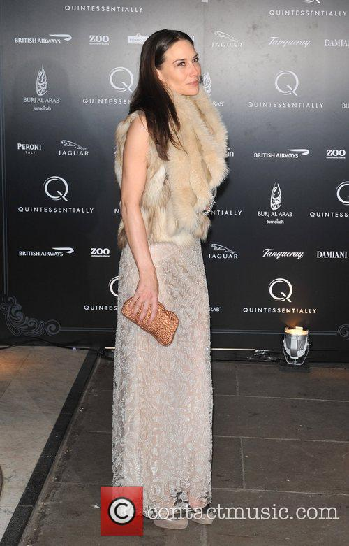Claire Forlani Quintessentially - anniversary party held at...