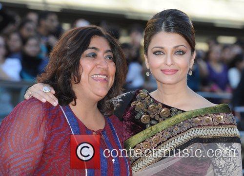 Aishwarya Rai Bachchan and Gurinder Chadha Raavan -...