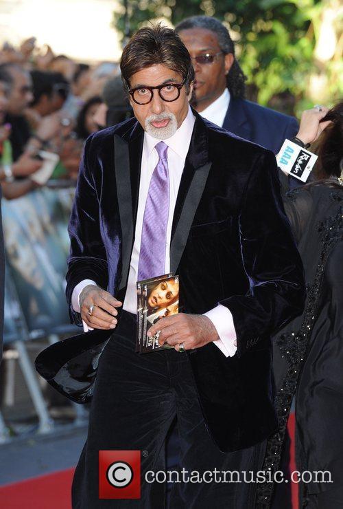 Amitabh Bachchan Raavan - UK film premiere held...