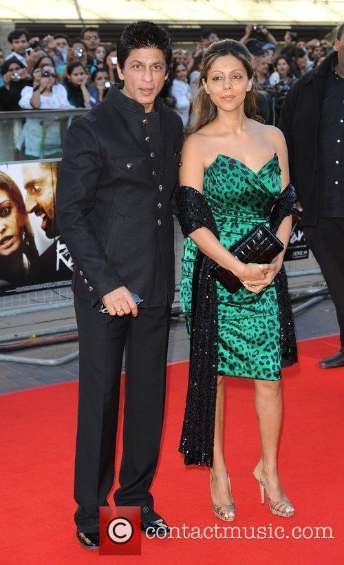 Shahruh Khan and guest Raavan - UK film...