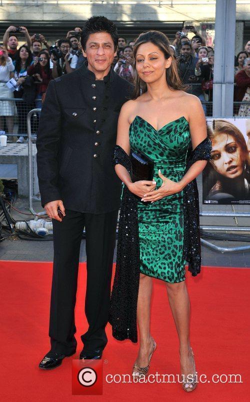 Sharhukh Khan and guest Raavan - UK film...