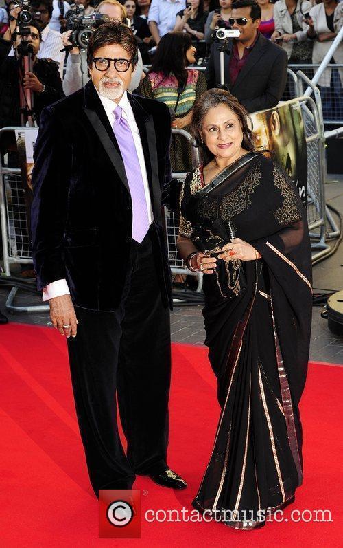 Amitabh Bachchan & Wife Raavan - UK film...