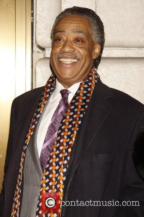 Al Sharpton Opening night of the Broadway play...