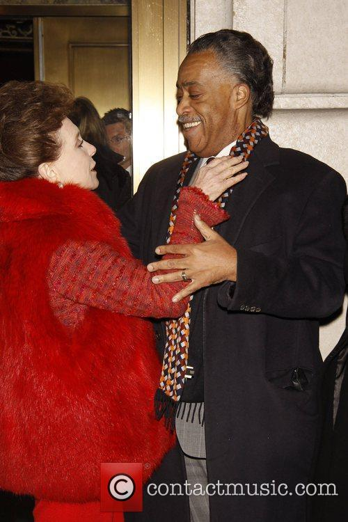 Cindy Adams and Al Sharpton Opening night of...