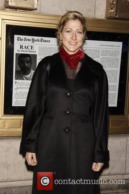 Edie Falco Opening night of the Broadway play...