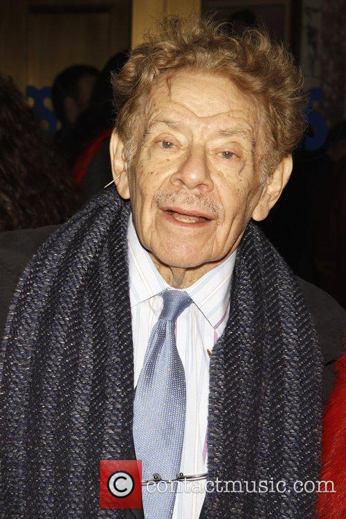 Jerry Stiller Opening night of the Broadway play...