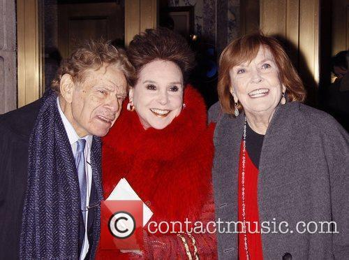 Jerry Stiller, Cindy Adams, and Anne Meara Opening...