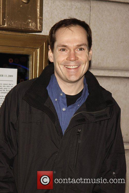 Jonathan Crombie Opening night of the Broadway play...