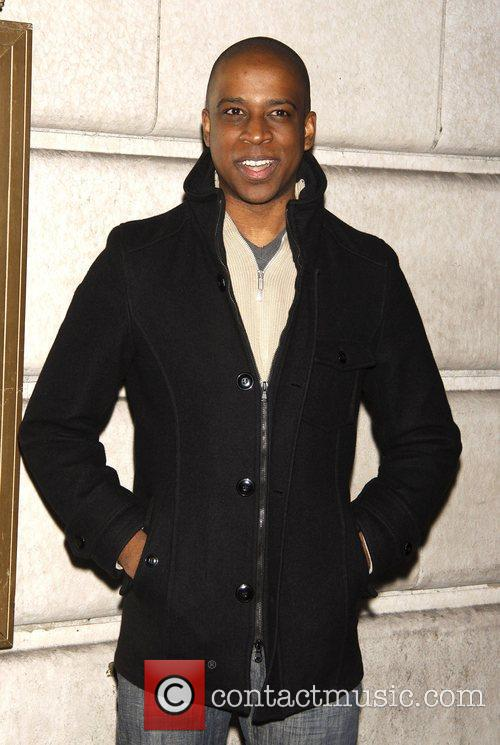 Keith Powell Opening night of the Broadway play...