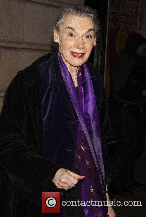 Marian Seldes Opening night of the Broadway play...