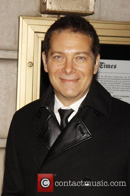 Michael Feinstein Opening night of the Broadway play...