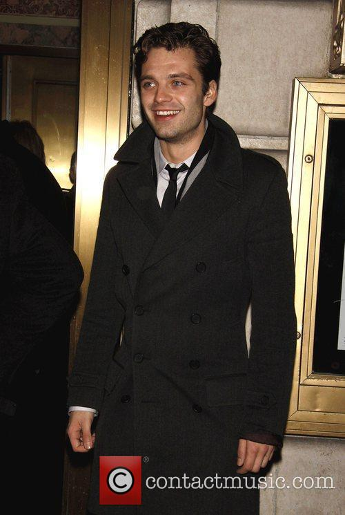 Sebastian Stan Opening night of the Broadway play...
