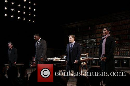 Closing night of the Broadway production of 'Race'...