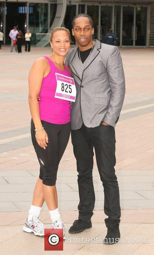 Angela Griffin and Lemar 5