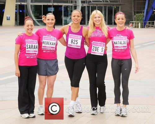 The 2010 Race For Life for Cancer Research...