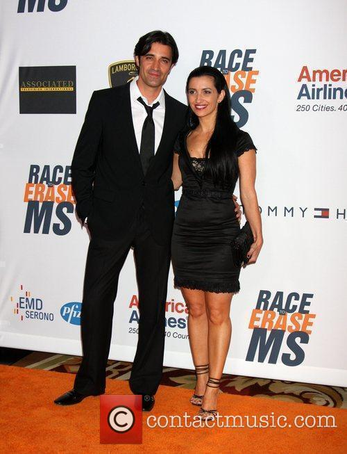 Gilles Marini and guest The 17th Annual Race...