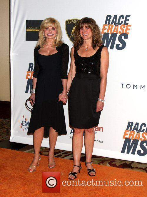 Loni Anderson and Her Daughter Deidra Hoffman 2